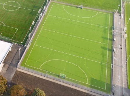 3G football pitch with floodlights