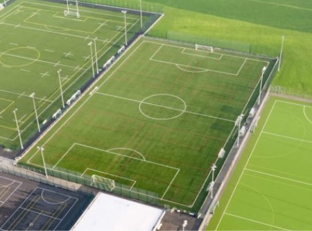 3G outdoor football pitch