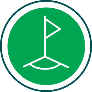 Pitches and Courts Corner Flag icon