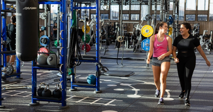 Image of workout gym