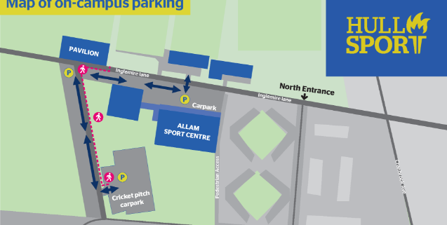 Image of campus parking